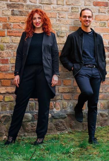 Stefanie Ehrich und Andre Leddermann Rostock